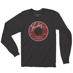 John Lee Hooker Vinyl Record Long Sleeve T-Shirt