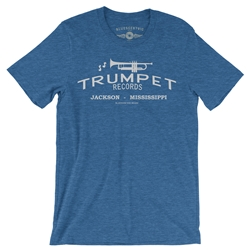 Trumpet Records Vintage Style T Shirt