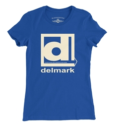Delmark Records Ladies T Shirt