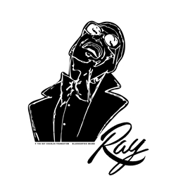 Ray Charles Car, Glass or Guitar Case Vinyl Decal