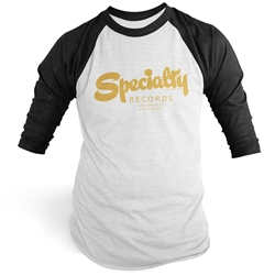 Specialty Records Raglan Baseball Tee