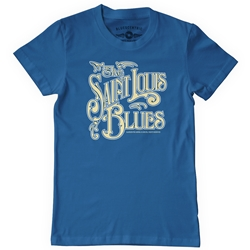 St Louis Blues Heavy Cotton T Shirt