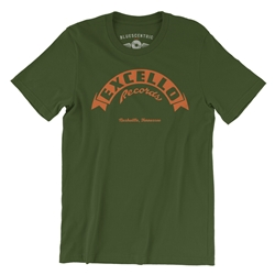 Excello Records T Shirt - Lightweight Vintage Style