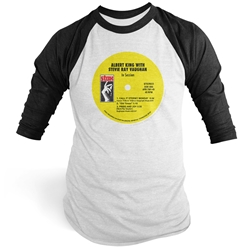 Stax In Session Vinyl Record Baseball Tee