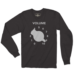 Guitar Volume Knob Long Sleeve Tee