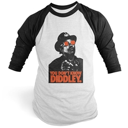 You Don't Know Diddley Baseball Tee