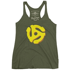 45 Record Adapter Racerback Tank - Women's