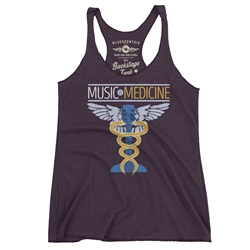 Music is Medicine Racerback Tank - Women's