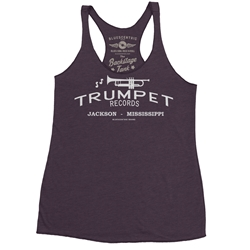 Trumpet Records Racerback Tank - Women's