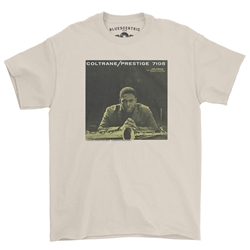 John Coltrane Prestige 7105 T-Shirt Classic Heavy Cotton