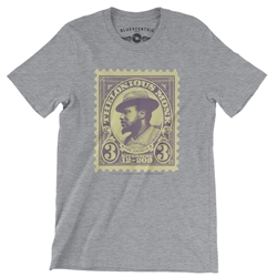 Thelonious Monk Stamp T-Shirt - Lightweight Vintage Style