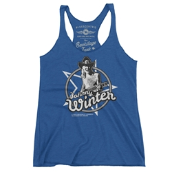 Johnny Winter Racerback Tank - Women's