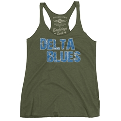 Delta Blues Racerback Tank - Women's