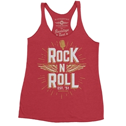 Rock n Roll Racerback Tank - Women's