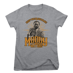 Muddy Waters Ladies T Shirt