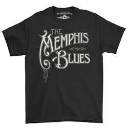 The Memphis Blues T-Shirt - Classic Heavy Cotton