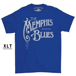 XLT Memphis Blues T-Shirt - Men's Big & Tall