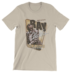 Official Ray Charles lightweight cotton T Shirt
