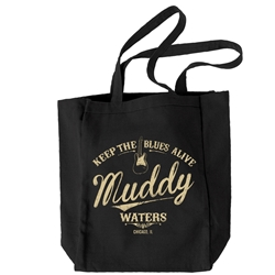 Muddy Waters Tote Bag - Keep the Blues Alive
