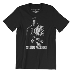 Muddy Waters T-Shirt - Lightweight Vintage Style