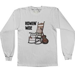 Howlin Wolf Rockin Chair Long Sleeve T Shirt
