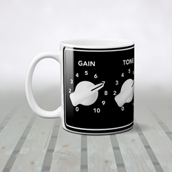 Guitar Amplifier Coffee Mug