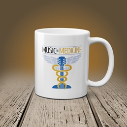 Music is Medicine Coffee Mug