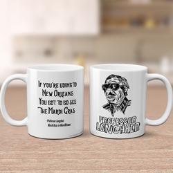 Professor Longhair Coffee Mug