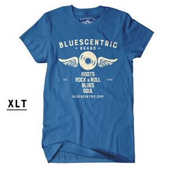 XLT Bluescentric Blues Soul Rock n Roll Shirt
