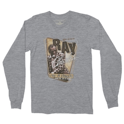 Ray Charles Concert Poster Long Sleeve T Shirt