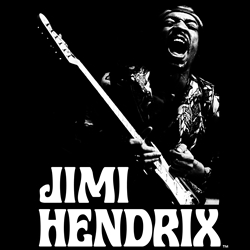 Jimi Hendrix T-Shirts | Authentic Jimi Hendrix Apparel and Merch