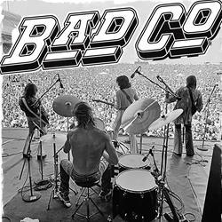 Official Bad Company t-shirts and merchandise