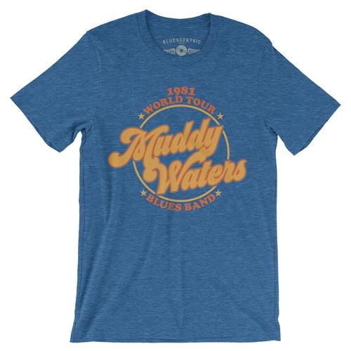 04eeca4c8d2 Muddy Waters Blues Band T-Shirt