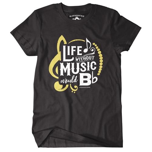 bc434cc2 Life Without Music Would B Flat T-Shirt - Classic Heavy Cotton.  SKU:ATEMUSICBFLAT2