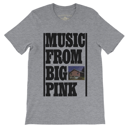 279af22a The Band Music From Big Pink T-Shirt - Lightweight Vintage Style.  SKU:ACTBIGPINK
