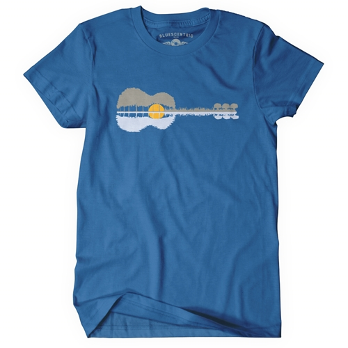 2d063951 Guitar Reflection T-Shirt - Classic Heavy Cotton