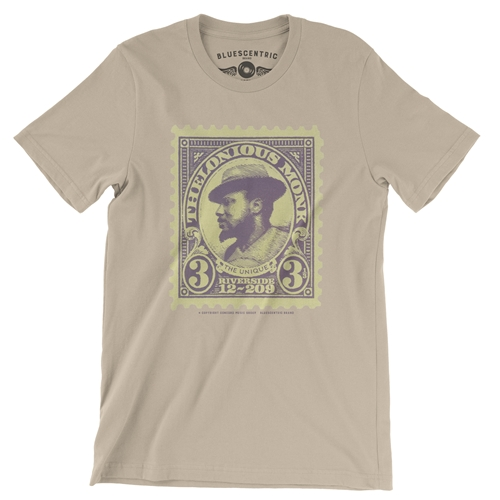 Thelonious Monk Stamp Vintage Style T Shirt Bluescentric
